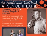 """Big Fish Little Pond"" cabaret show at Venice Theatre"