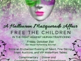 Free the Children Gala 2014, a Halloween Masquerade Affair