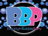 Blacklight Bubble Party