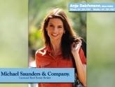 Anja Deichmann @ Michael Saunders & Company