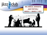 35th ANNUAL SARASOTA  JAZZ FESTIVAL!