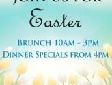 Pier 22 Features an Easter Brunch Buffet and Dinner Specials