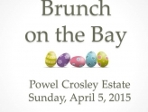 Easter Brunch on Sarasota Bay at the Crosley Estate