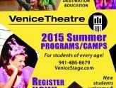 """Theatrefest"" Summer Camp & Adult Classes registration at Venice Theatre"