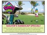 Golfers Handicap Special
